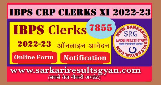 IBPS Clerk XI Online Form 2021